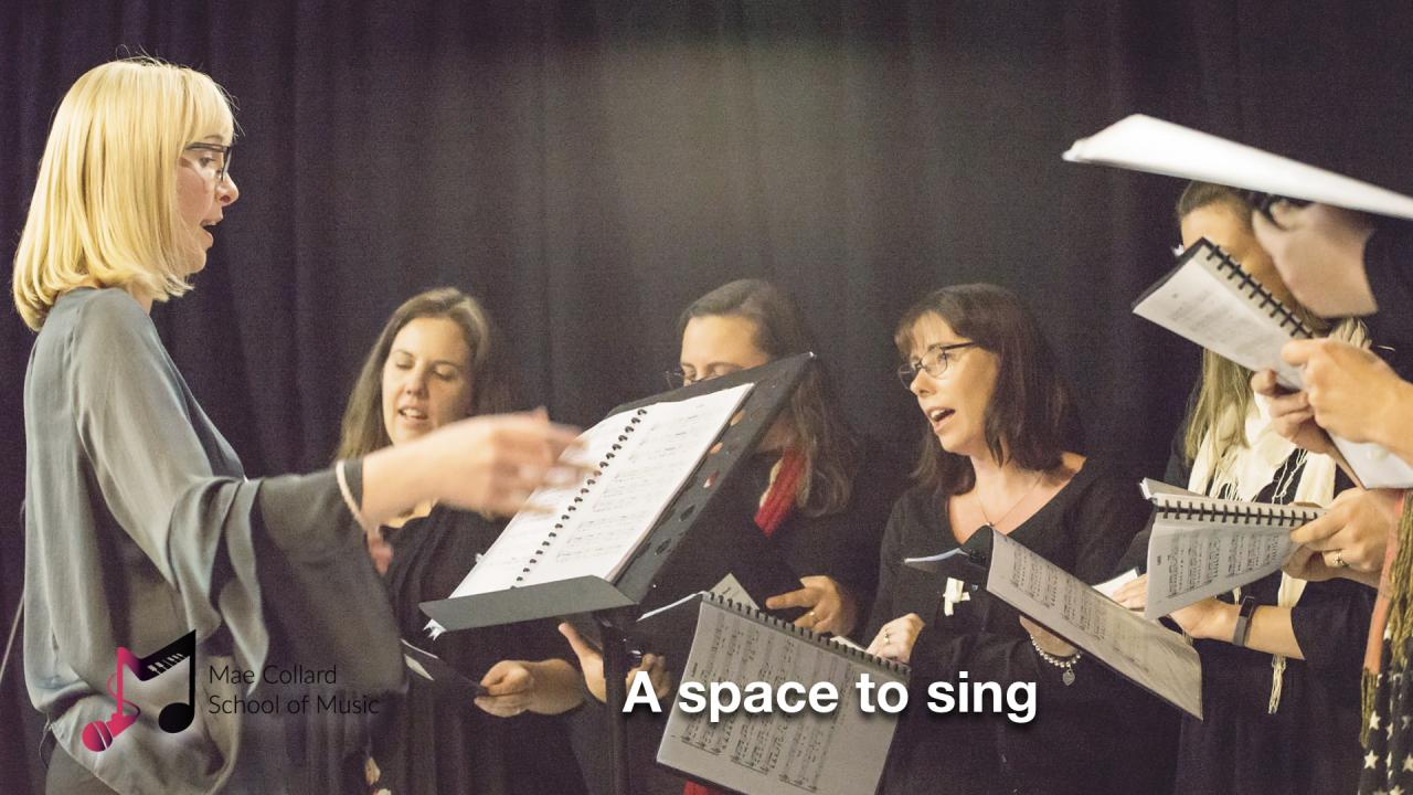 A space to sing
